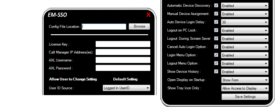 Automatic Login to Extension Mobility | Cisco Single Sign On for Windows
