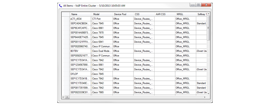 Software to Inventory Phone Assets | Capture Serial Numbers